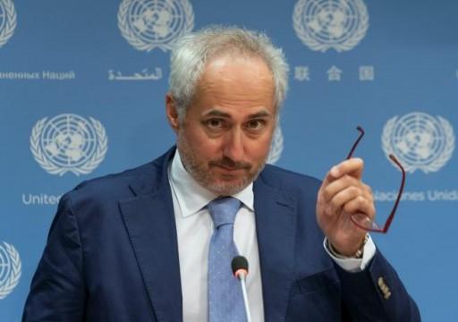 الأمم المتحدة قلقة من العقوبات الأميركية على الجنائية الدولية