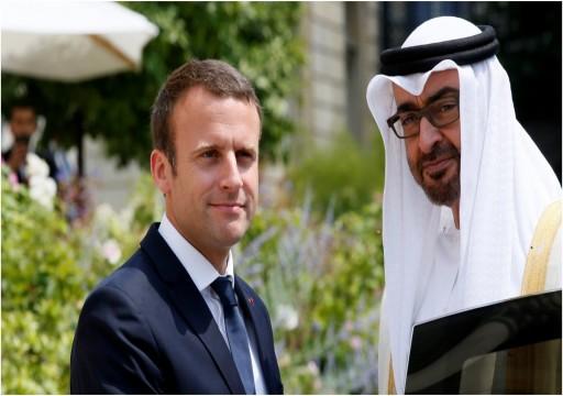 """رفضتها واشنطن والأطراف الفاعلة.. محمد بن زايد وماكرون يدعمان """"مبادرة السيسي"""" حول ليبيا"""