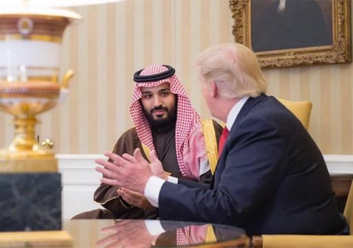 ترامب وولي العهد السعودي يبحثان التعافي الاقتصادي من كورونا