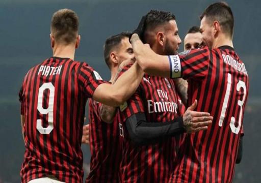 ميلان يتخطى تورينو ويزاحم فرق المقدمة بالدوري الإيطالي