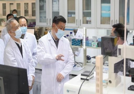 الرئيس الصيني يصل ووهان بؤرة تفشي فيروس كورونا