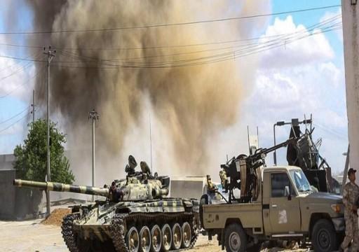 """بعد قصفها قاعدة جوية.. الحكومة الليبية تتوعد أبوظبي """"بالرد القاسي"""""""