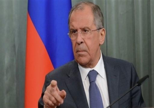 لافروف يقول روسيا قررت إعادة فتح سفارتها في ليبيا