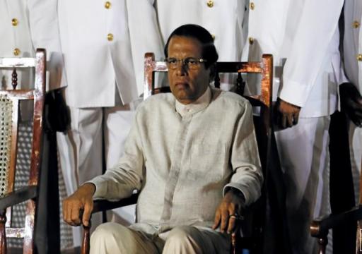 رئيس سريلانكا يقيل رئيس المخابرات وسط انتقادات بعد تفجيرات عيد القيامة