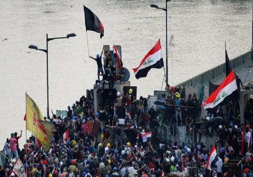 وكالة: اتفاق سياسي لإنهاء الاحتجاجات في العراق برعاية إيرانية