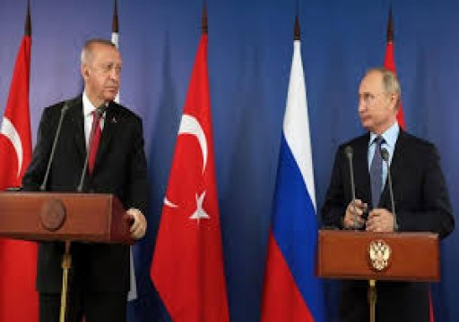 أردوغان وبوتين يتفقان على ضرورة إنهاء التوتر بالخليج