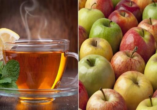 ما علاقة الشاي والتفاح بالوقاية من السرطان؟