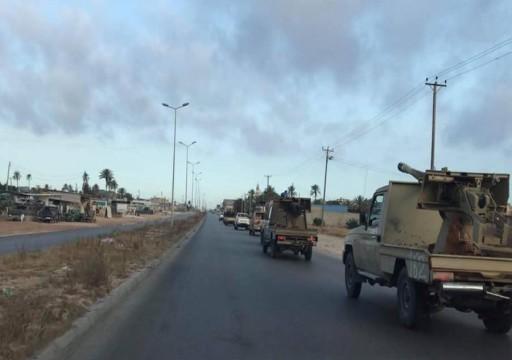 ليبيا.. قوات الوفاق تتقدم جنوبي طرابلس والحكومة تحقق بشأن جثة مقاتل أجنبي