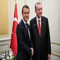 أردوغان وماكرون يتفقان على أهمية تعزيز العلاقات الاقتصادية بين البلدين