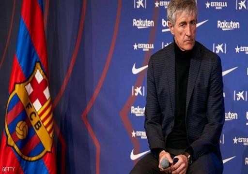 مدرب برشلونة ليس مقتنعا بخطط عودة الدوري الإسباني