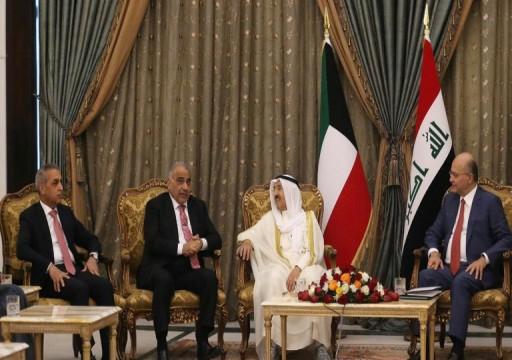 العراق والكويت يدعوان للنأي بمنطقة الخليج عن التوتر والصدام
