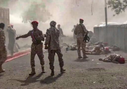 مقتل 11 جندياً بصاروخ أطلقه الحوثيون على معسكر جنوبي اليمن