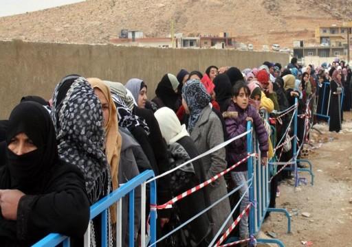 """رايتس ووتش"""": إجراءات """"تمييزية"""" بحقّ اللاجئين السوريين في لبنان"""