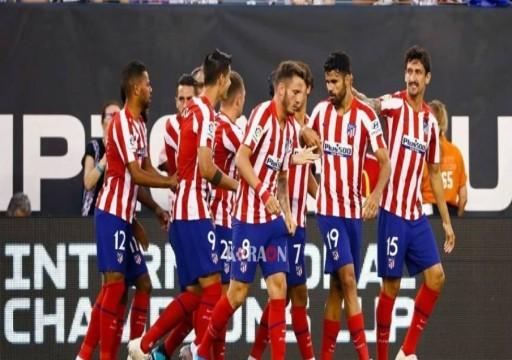 أتليتيكو مدريد يخفض رواتب لاعبيه لمواجهة تداعيات كورونا