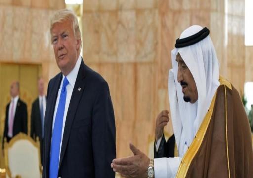 ترامب: لا أريد خسارة أموال السعودية وهذا ما قلته للملك