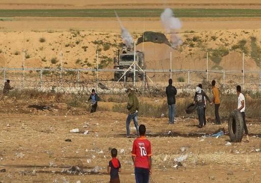 استشهاد فلسطيني متأثرا بإصابته على حدود غزة