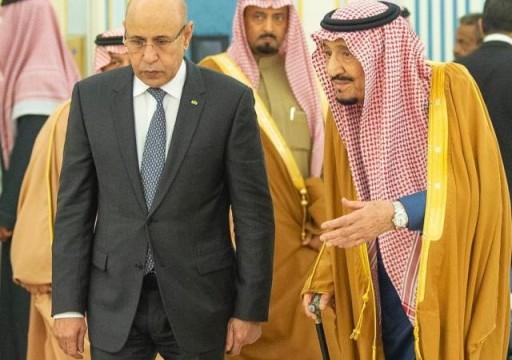 الغزواني يقول إن زيارته للسعودية شكلت فرصة للتشاور وتعزيز التعاون