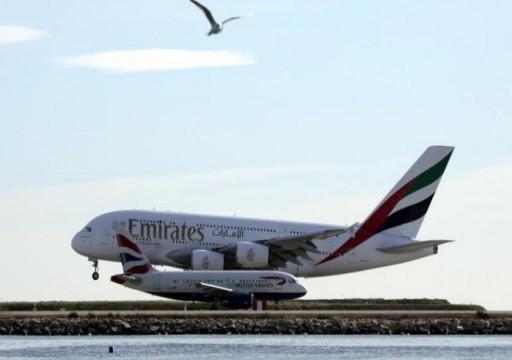 «طيران الإمارات» لا تتوقع تعافي السفر من «كورونا» قبل 18 شهراً