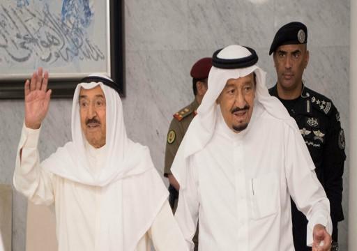 رسالة من أمير الكويت إلى العاهل السعودي