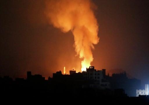 التحالف بقيادة السعودية يهاجم قاعدة جوية مجاورة لمطار صنعاء