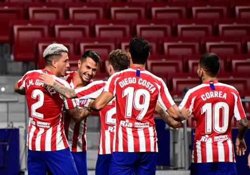 فوز صعب لأتلتيكو مدريد على بلد الوليد في الدوري الإسباني