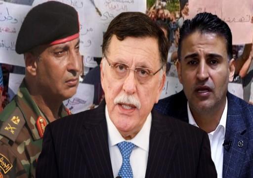 الحكومة الليبية تكلف وزير دفاع ورئيس أركان جديدين
