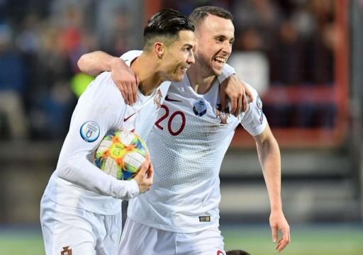 البرتغال تهزم لوكسمبورج وتبلغ نهائيات بطولة أوروبا 2020