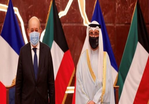 مباحثات كويتية فرنسية بريطانية حول جهود حل أزمات المنطقة