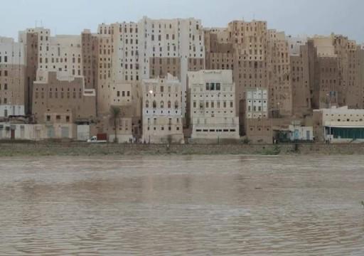 اليمن.. مصرع 9 بينهم 5 أطفال في سيول وأمطار بحضرموت