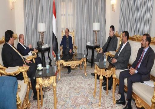 """الحكومة اليمنية: نحرص على تنفيذ اتفاق الرياض كاملاً """"دون إعاقة أو تعطيل"""""""