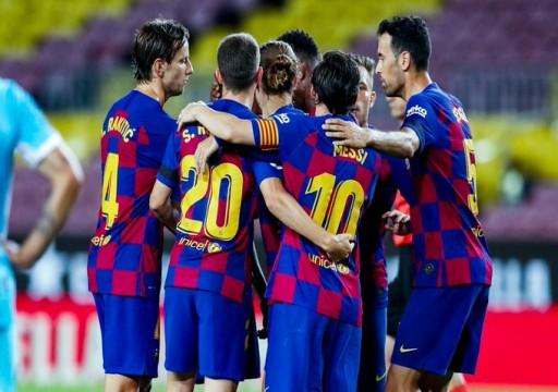 """برشلونة يعلن إصابة أحد لاعبيه بـ""""كوفيد-19"""""""