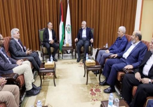 مبعوث أممي يبحث مع قيادات حماس تطورات الأوضاع في غزة