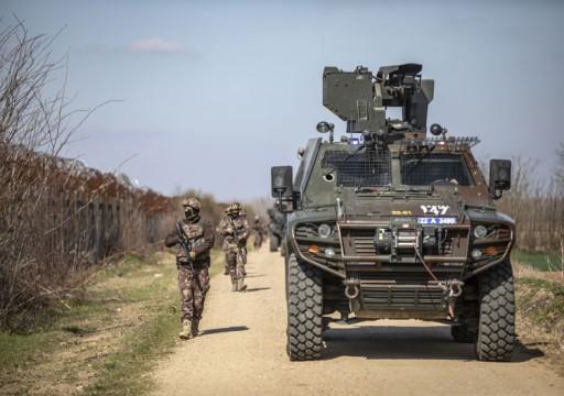 تركيا تبدأ نشر قوات أمنية على نهر حدودي مع اليونان