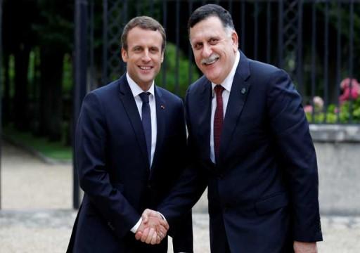 بعد خسائر حفتر.. فرنسا تبحث مع السراج وقف الهجوم على طرابلس
