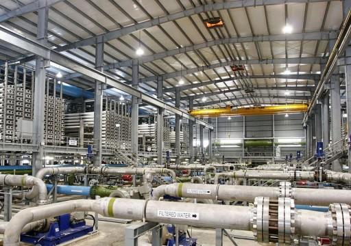 إنجاز صفقة تمويل مشروع إنشاء أكبر محطة لتحلية المياه في أبوظبي