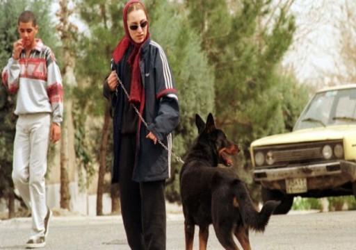 """السلطات الإيرانية """"تحظر التجول مع الكلاب"""" في شوارع طهران"""