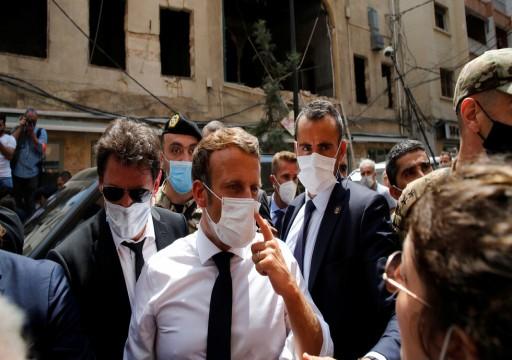 """ماكرون يقول إن مساعدات لبنان لن تذهب إلى """"الأيدي الفاسدة"""""""