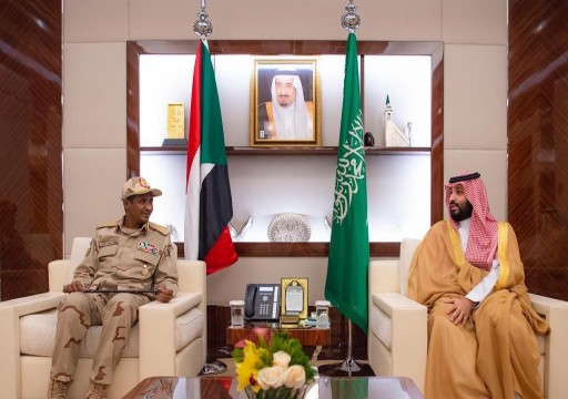 بن سلمان يلتقي نائب رئيس المجلس العسكري السوداني في جدة