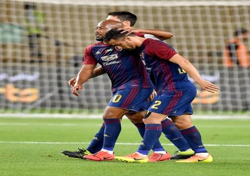 الوحدة يكتسح بني ياس ويصعد لنهائي كأس الخليج العربي