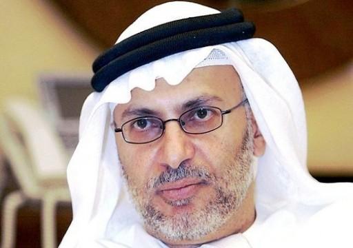 قرقاش يدافع عن ابن سلمان وعن أبوظبي في قضايا تجسس مخزية