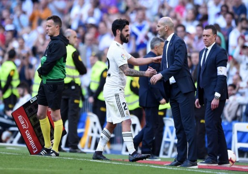 زيدان يستهل ولايته الثانية مع الريال بفوز في الدوري الإسباني
