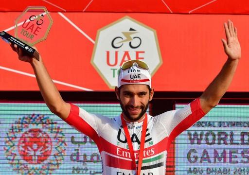 دراج فريق الإمارات الكولومبي فرناندو يتعافى من كورونا