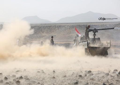 الجيش اليمني يعلن تحرير مواقع وتدمير مخزني أسلحة للحوثيين بمأرب