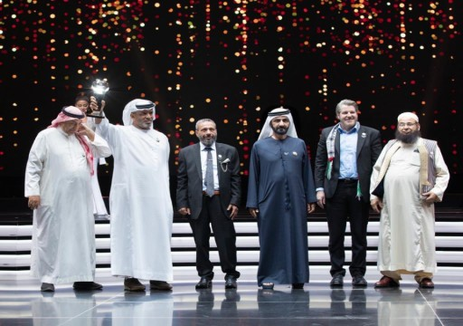 محمد بن راشد يتوج المواطن الفلاسي بصانع الأمل العربي 2020