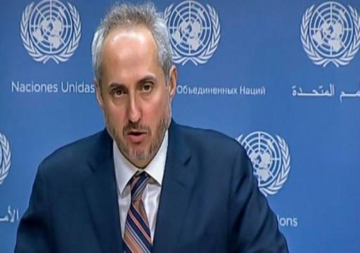 الأمم المتحدة تحذر من عواقب كارثية إزاء تصاعد حدة الخطاب بالخليج