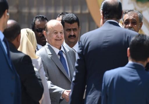 """حزب الإصلاح في اليمن يكشف عن مساعي إقليمية لـ""""إزاحة"""" هادي"""