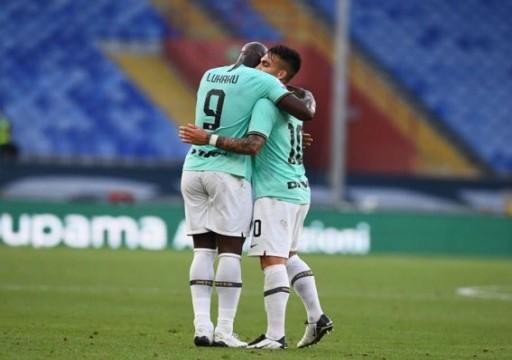 الدوري الإيطالي: إنتر يجتاز جنوة بثلاثية ويضغط على يوفنتوس المتصدر