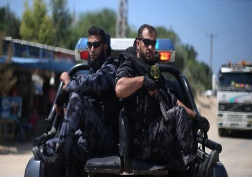 """اعتقال """"خلية"""" خلال تنفيذها عمل تخريبي ضد المقاومة بغزة"""