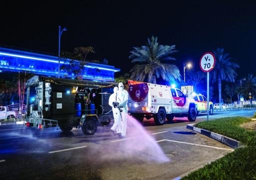 دبي في قبضة التعقيم من كورونا.. هل يغلق الفيروس الإمارة أكثر من أسبوعين؟