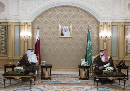 أمير قطر يلتقي محمد بن سلمان في الرياض لبحث تعزيز التعاون والتطورات الإقليمية